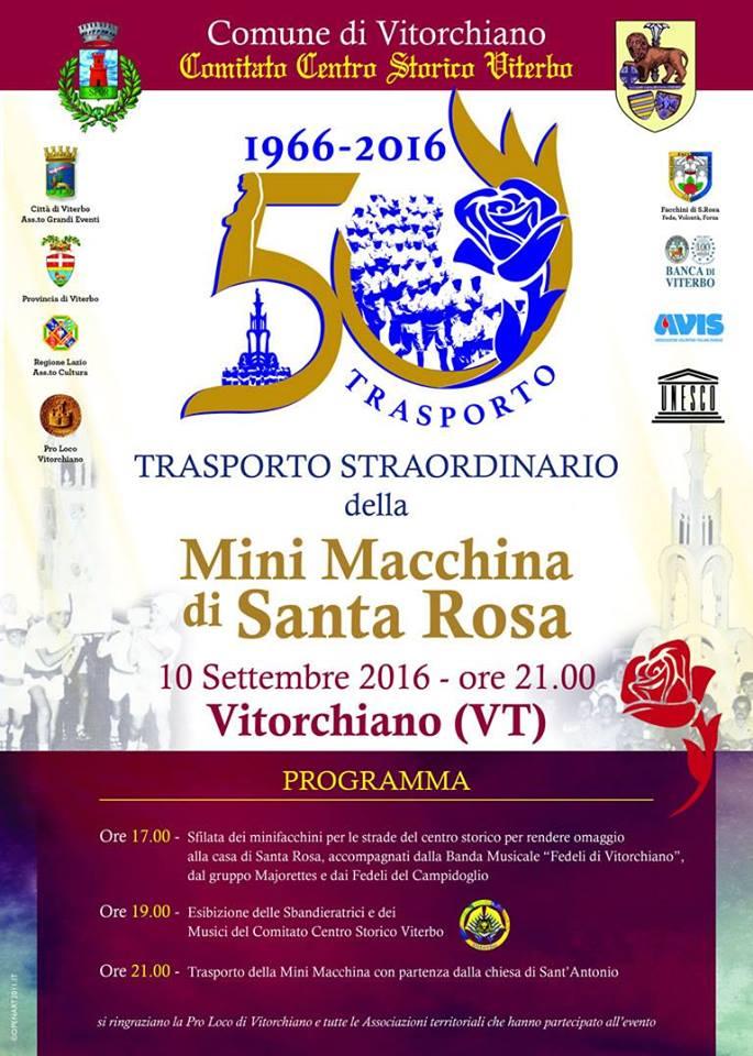 Trasporto Straordinario a Vitorchiano 2016